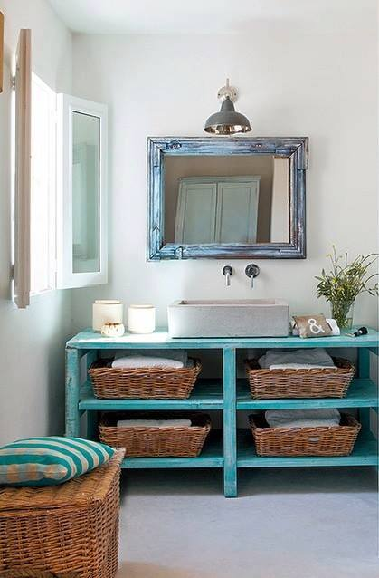 Small ideas make loo bigger decor units for Small loo ideas