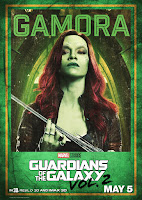 Guardians of the Galaxy Vol. 2 Movie Poster 7 Zoe Saldana