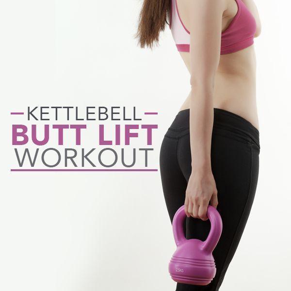 Kettlebell Butt Lift Workout