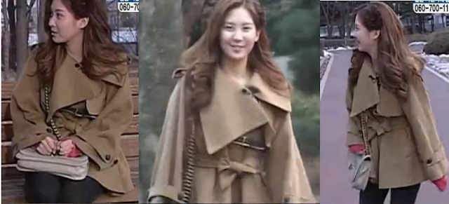 Seohyun we got married cape coat