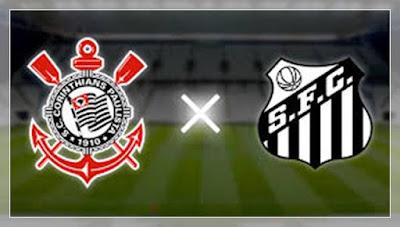 Jogo Corinthians x Santos  Ao Vivo na TV Globo 31/03 - semifinal do Paulistão