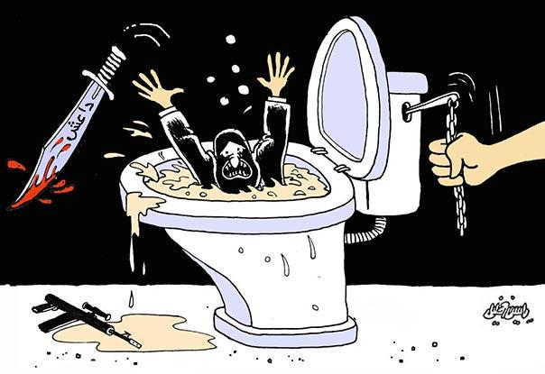 داعش لا مكان لها في الموصل كاريكاتير
