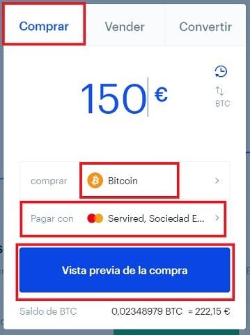 Comprar en Coinbase Barato Bitcoin