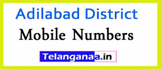 Bazarhathnoor Mandal ZPTC MPP MPTC Mobile Numbers List Adilabad District in Telangana State