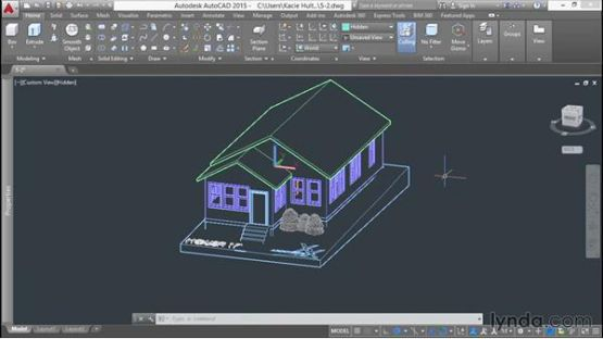 AutoCAD 2014 screenshot 4