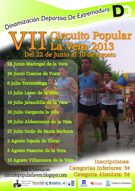 Circuito popular La Vera 2013
