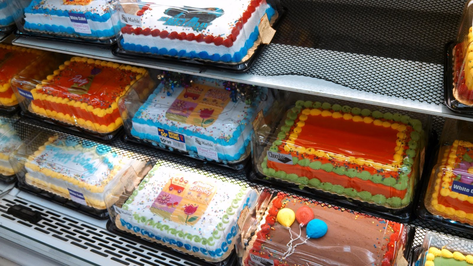 Superstore Birthday Cake Prices