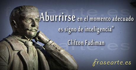 Frases inteligentes de Clifton Fadiman