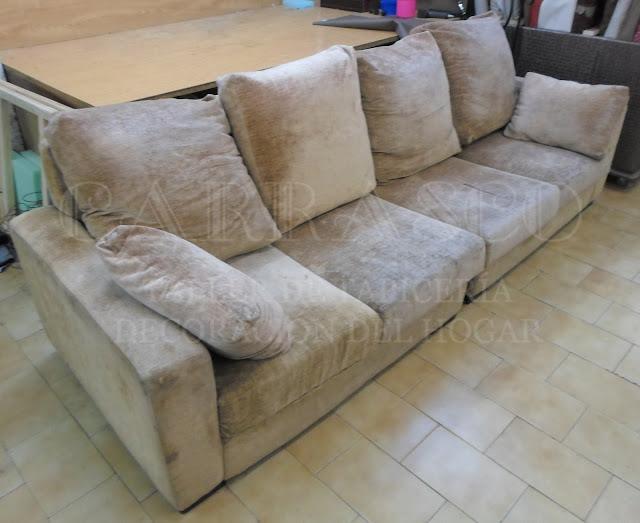 Transformación de sofá - antes 2
