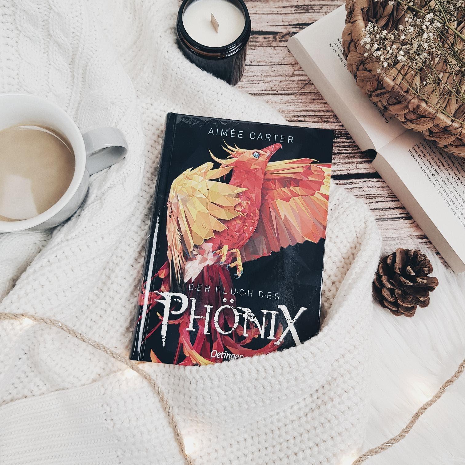 Bücherblog. Rezension. Buchcover. Der Fluch des Phönix von Aimée Carter. Kinderbuch. Fantasy. Verlagsgruppe Oetinger.