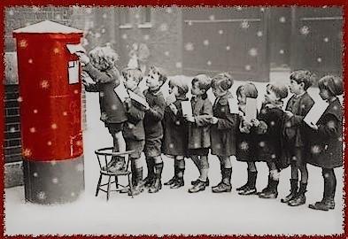 Boite à lettres pour Noël