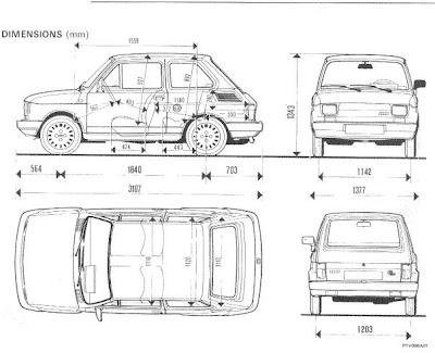 Fiat 126 Bis: 1989-1991 Model Fiat Bis 126 Özellikleri