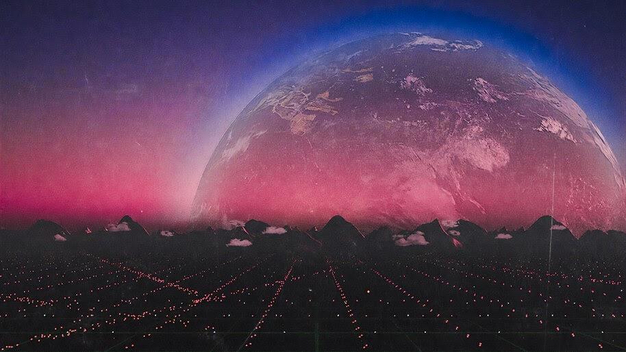 Planet, Horizon, Digital Art, 4K, #4.2072