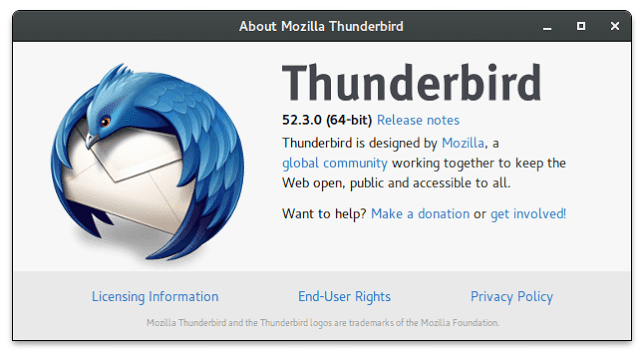 Thunderbird Stable 52.3.0
