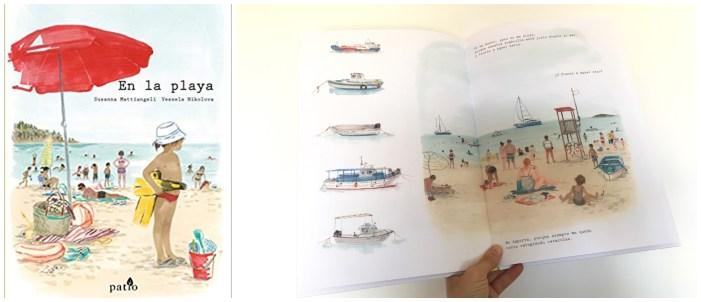 cuentos libros lecturas recomendadas verano 2018 En la playa patio editorial montessori