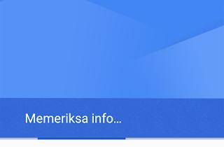 memeriksa info