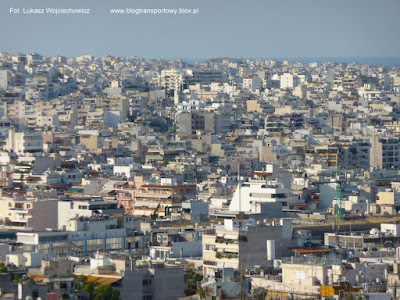 Ateny - widok z Akropolu
