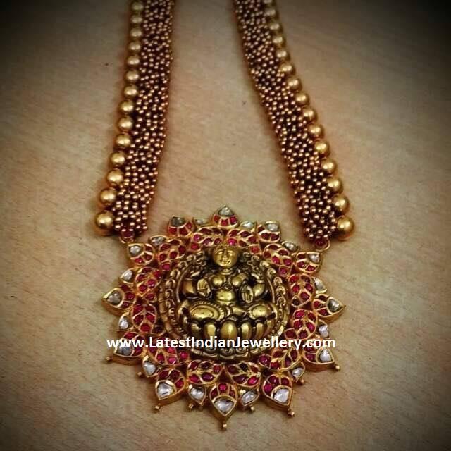 Kundan Lakshmi Pendant Jewellery