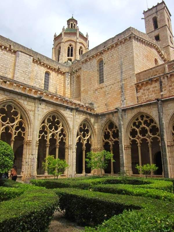 Cloister of Santes Creus Monastery