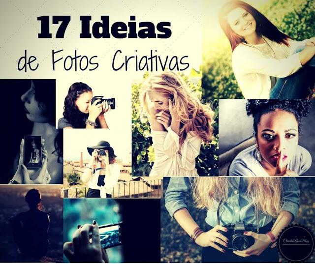 17 Ideias de Fotos Criativas Sozinha