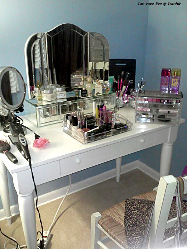 Barbie Thoughts My New Vanity Set Up
