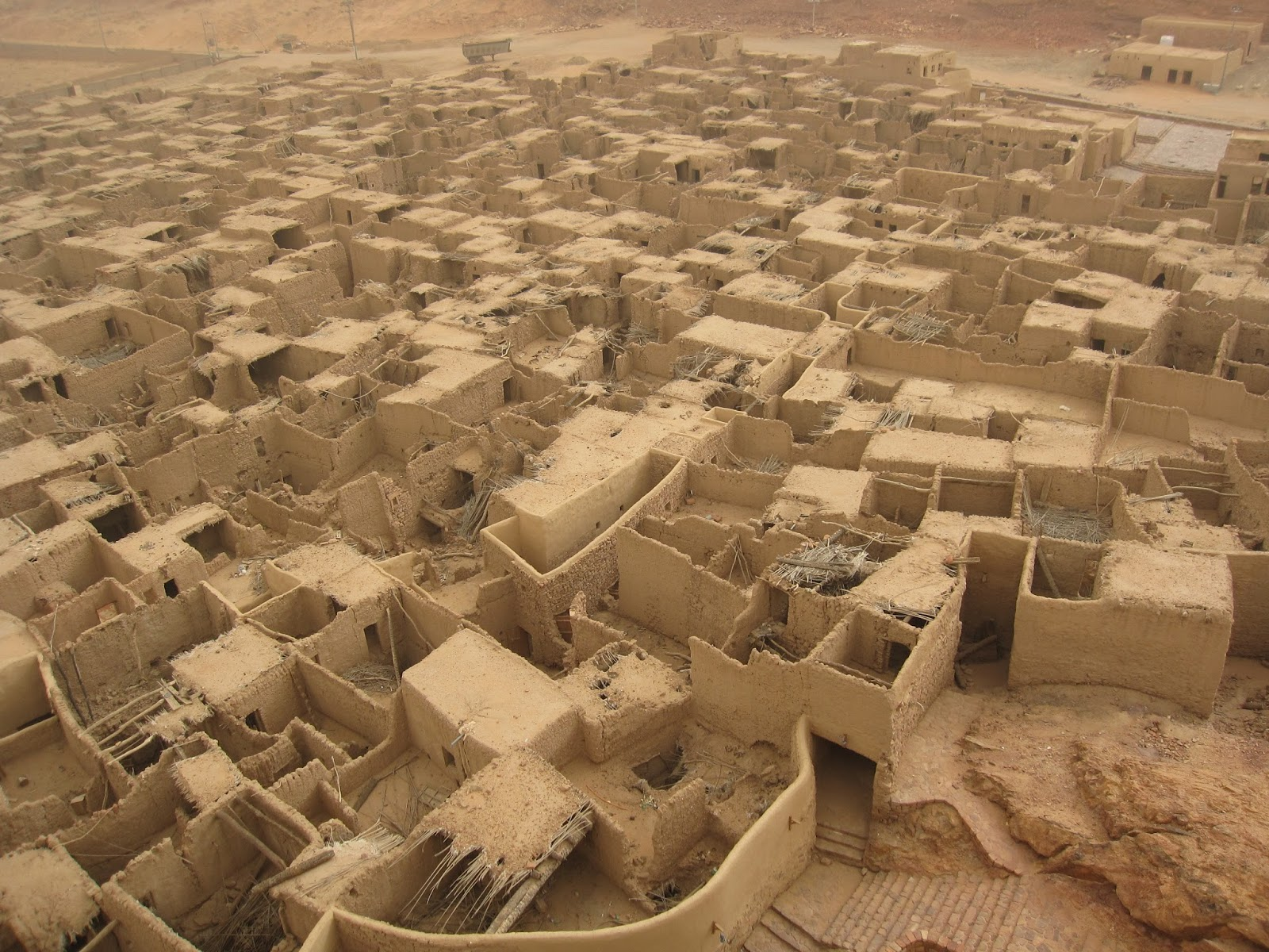 2000 Years Old Al Mabiyat Village In Al Ula Saudi Arabia Life