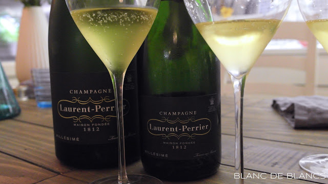 Laurent-Perrier Millésime Champagne Brut 2006 magnum vs. tavallinen pullo - www.blancdeblancs.fi