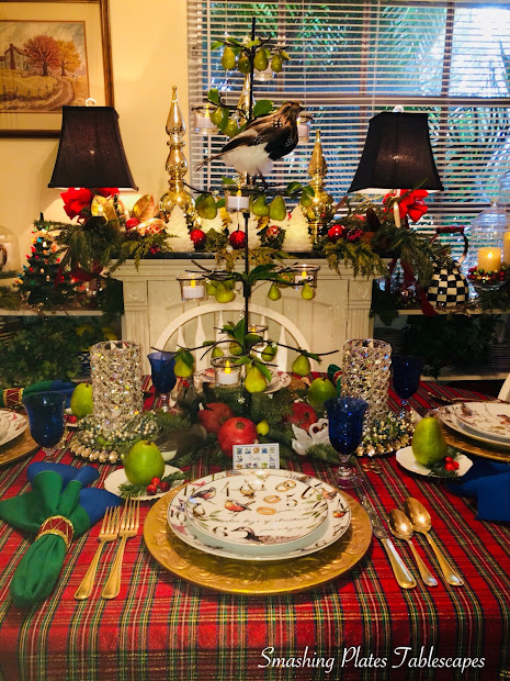 Smashing Plates Tablescapes Twelve Days Of Christmas
