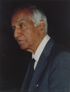 Subramanyam Chandra Shekhar was born on Oct. 19, 1910 in Lahore, now in Pakistan. His papers were published in reputed journals even before he was a graduate. One of them even appeared in the proceeding of Royal Society, a rare honour for one so young. At the age of 27, his reputation as a promising astrophysicist had been established. He is best known for Chandra Shekhar's Limit which imposes a restriction on the size o highly dense variety of stars, known as White Dwarf. If this type of star has mass in excess of that limit it explodes like thousands of nuclear bombs ignited together to become a very bright star called Super Nova until all the excess matter is shed into space.