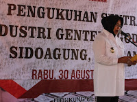 Pemkab Sleman Resmikan Sidoagung  Jadi Sentra  Industri Genteng
