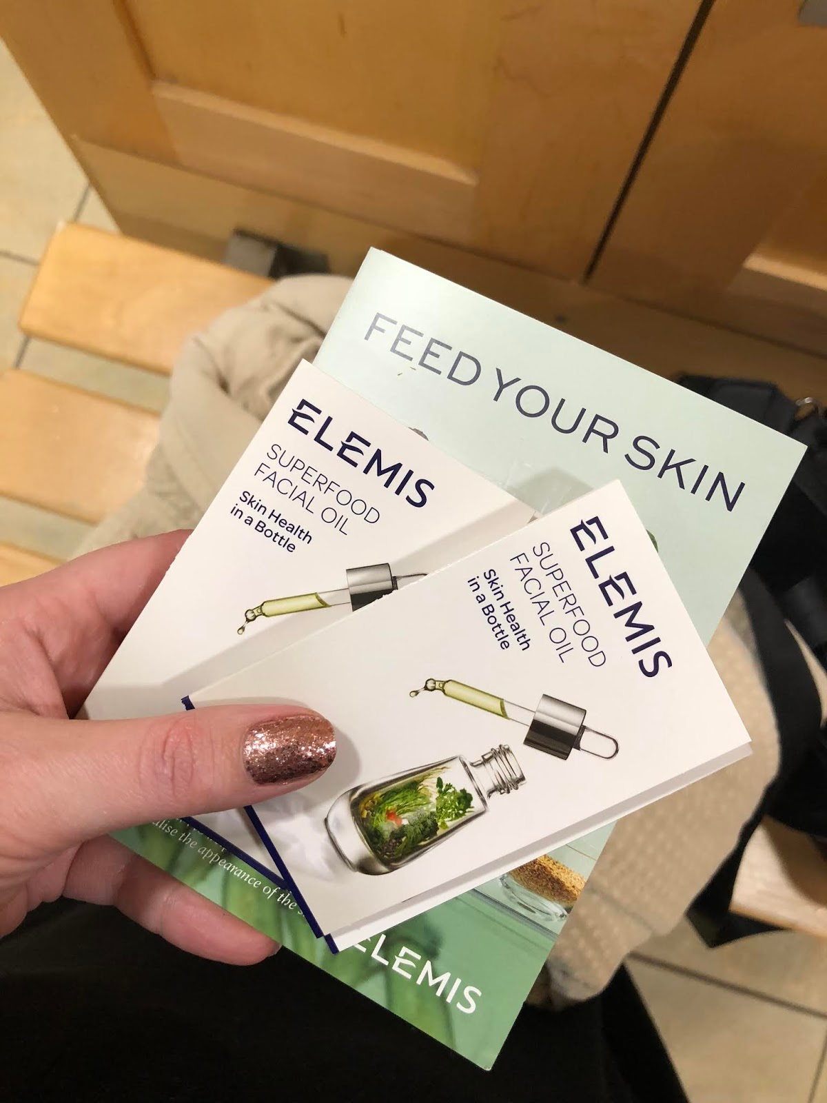 Elemis Skincare Samples from Matfen Hall Spa