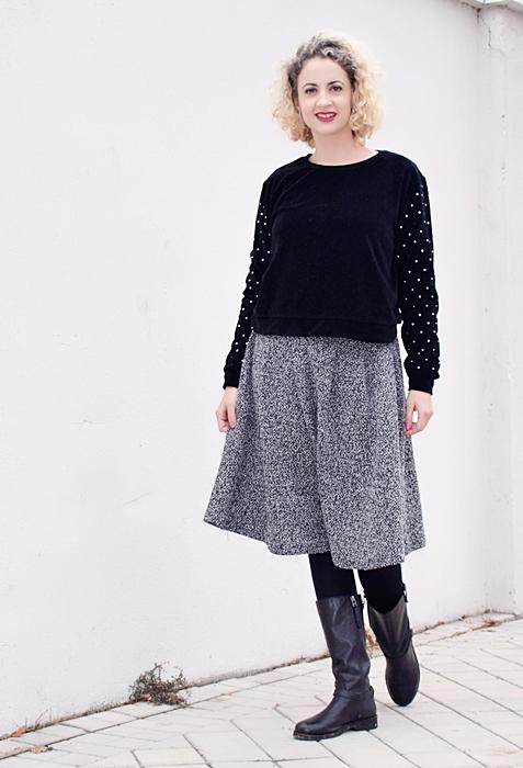 Outfit-falda-punto-gris-5