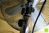Schrauben: Andrew James 40cm Standventilator mit Chromfinish – 60 Watt Motor, Verstellbare Höhe, 3 Geschwindigkeitseinstellungen, verstellbare Neigung und Schwenkfunktion + Hochbeanspruchbar – 2 Jahre Garantie
