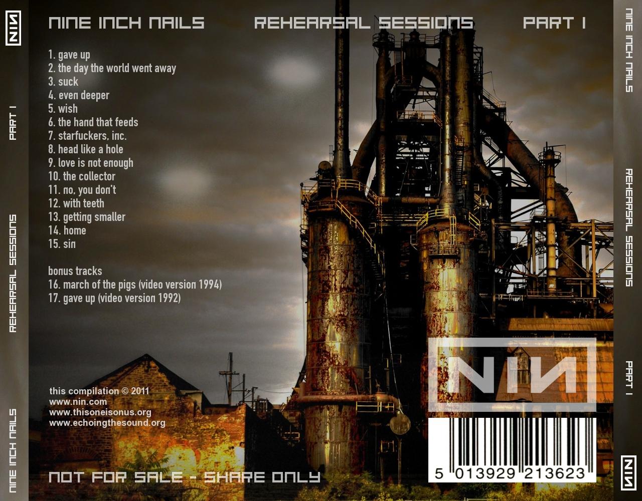 DARK CIRCLE ROOM: RE-UPLOAD: Nine Inch Nails - Rehearsal ...