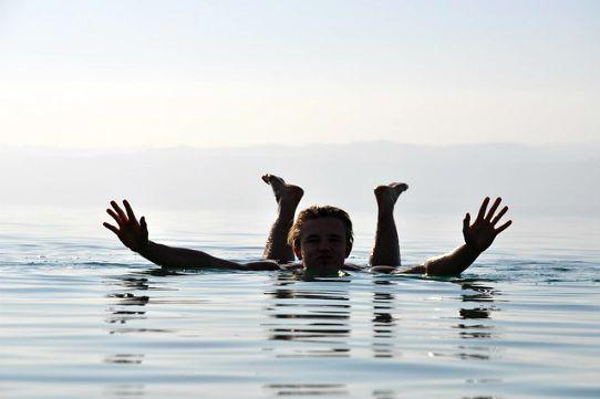 Mar Morto sponda giordana