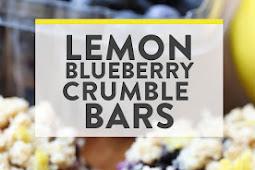 Lemon-Blueberry Bars