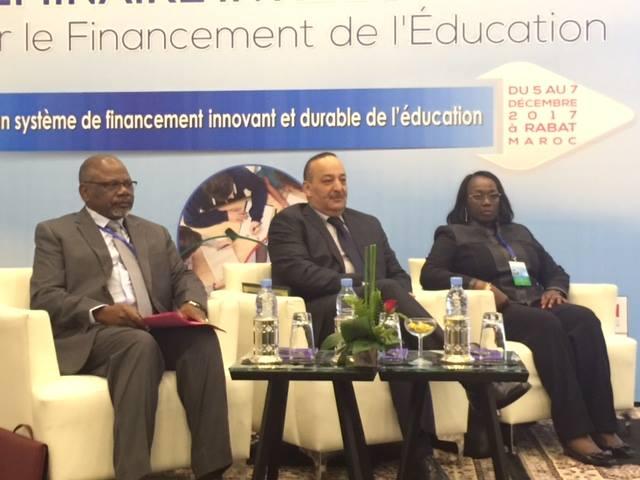 توصيات الندوة الدولية حول تمويل التربية - نداء الرباط