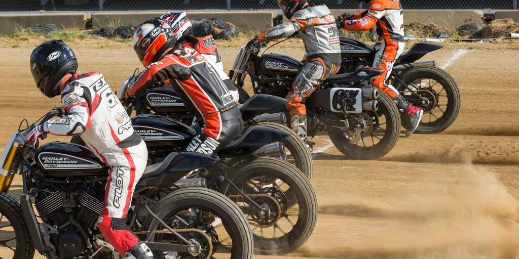 Harley Davidson: BUBBLE VISOR: Harley Davidson Street 750 Flat Tracker At X