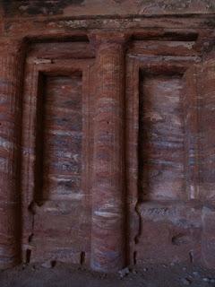 Interior de una de las tumbas
