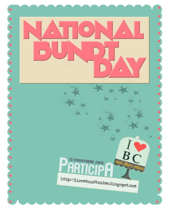National Bundt Cake Day 2015