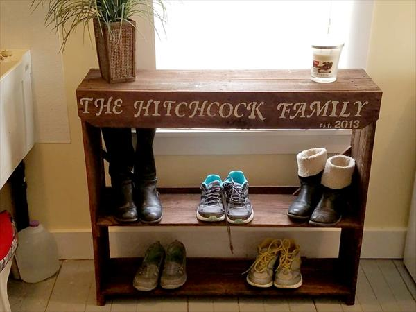 Quoted Wooden Pallet Family Shoes
