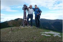 Goikogana mendiaren gailurra 702 m. --  2016ko urriaren 23an