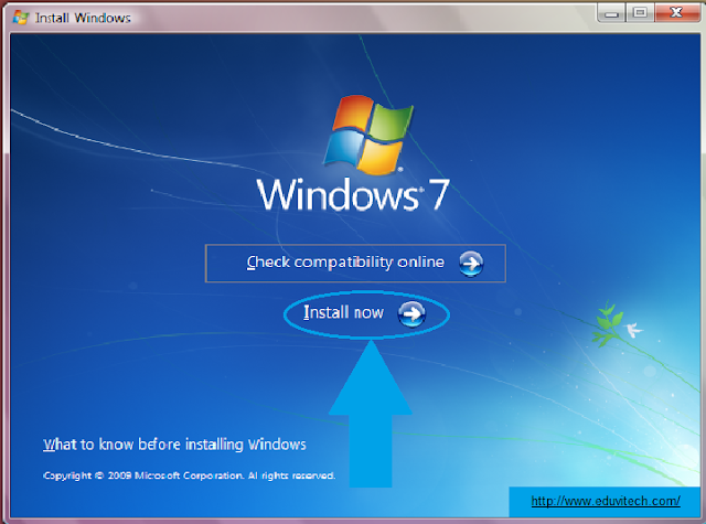 windows install