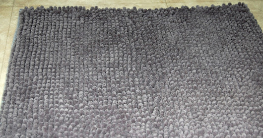 Ohuhu Super Soft Microfiber Bathroom Rug Review #ohuhu #rug