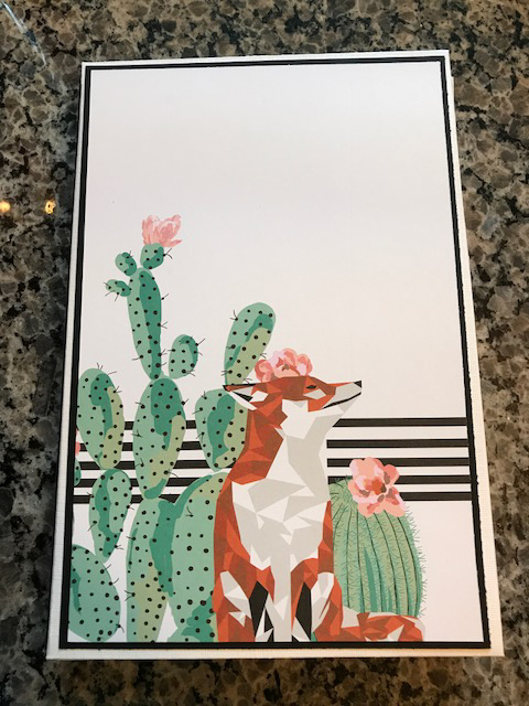 Christy Fox And Cactus Trifold Album