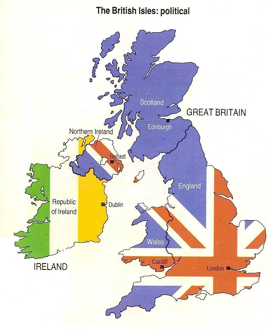 El Blog Del Fusil La Diferencia Entre Gran Bretaña Reino Unido E Inglaterra