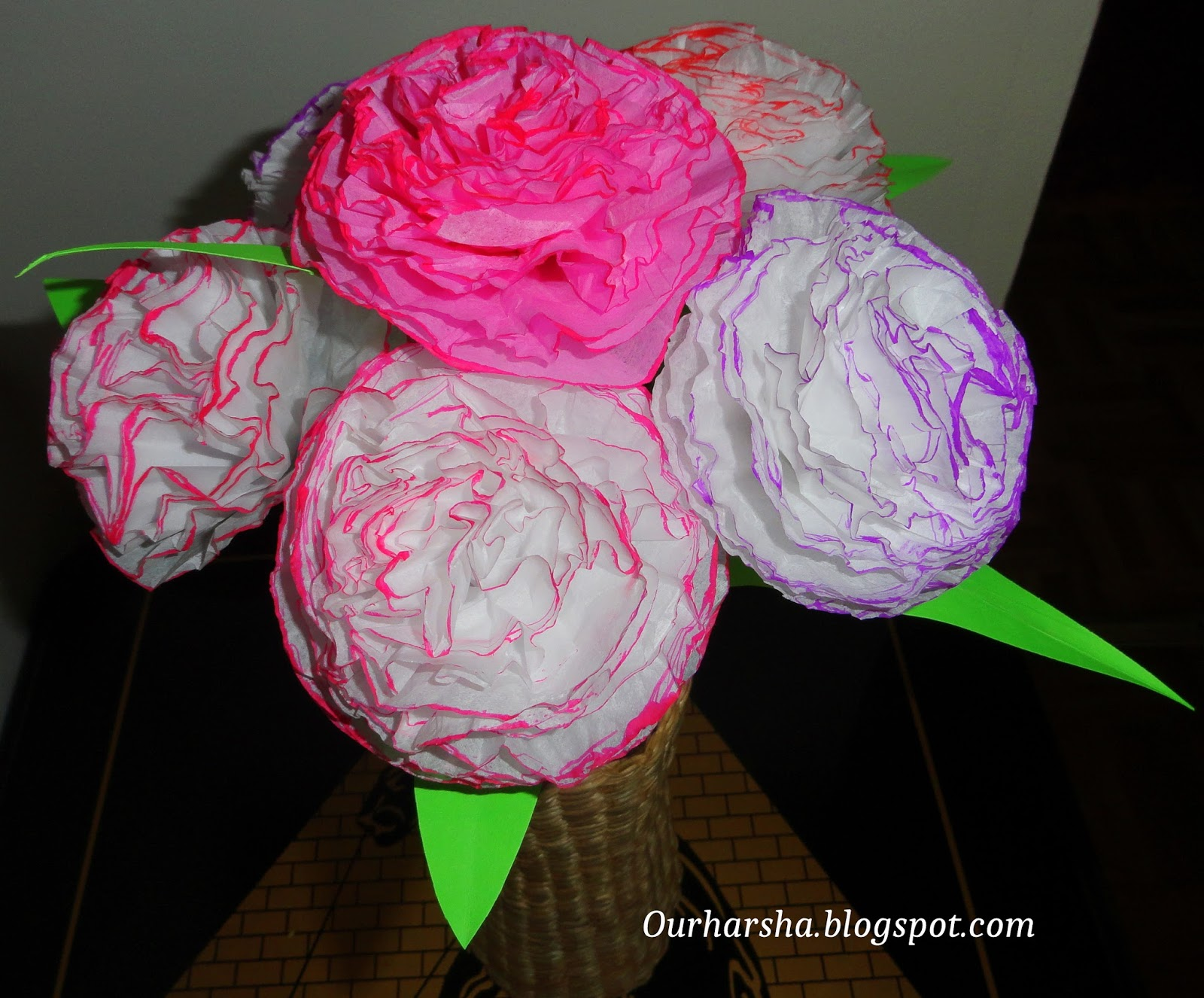 paper carnations Products 1 - 9 of 9  wild orchid crafts : carnations - mulberry paper flower leaves & spray  embellishments fabric flower lace &trim specials clearance/sale.