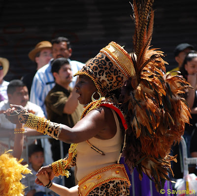 dancer San Francisco Carnaval