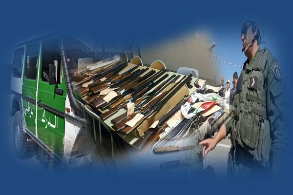الدرك يكتشف ورشة سرية لصناعة الأسلحة الحربية في الشلف