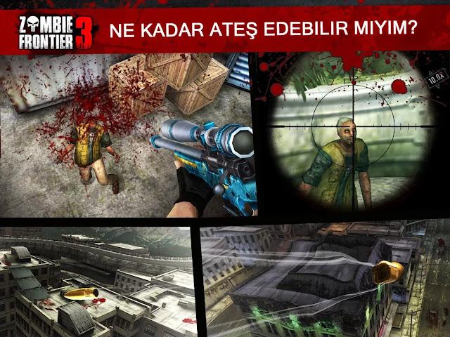 zombie frontier 3 hile apk indir